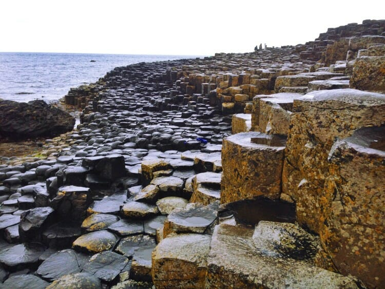 Giant's Causeway Rock Formations