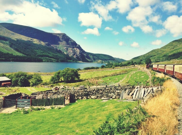 guide to north wales walking in wales snowdonia national park steam train ride