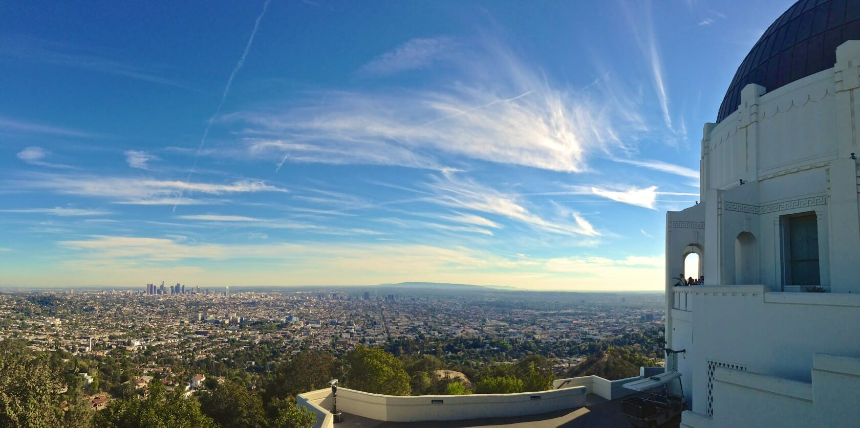 best views in LA Griffith Observatory