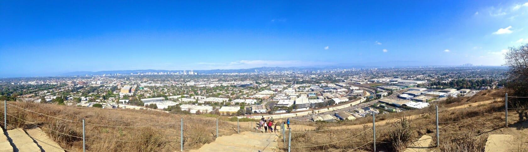 best views in LA Baldwin Hills
