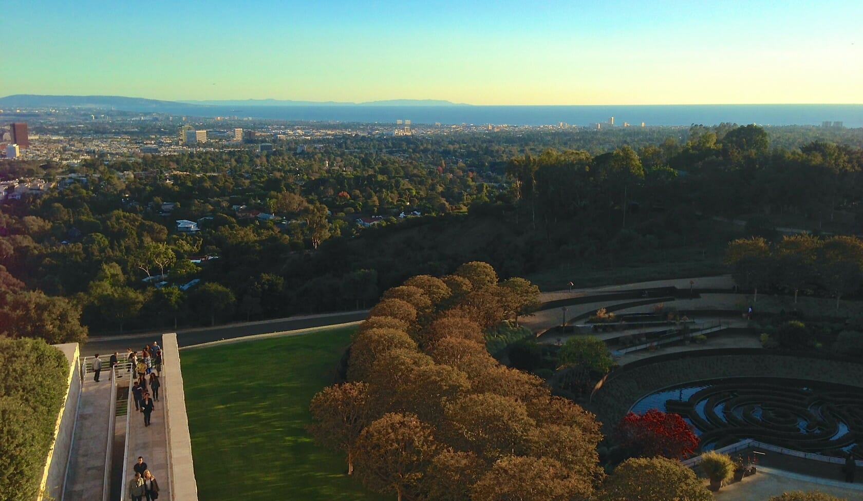 best views in LA The Getty Museum