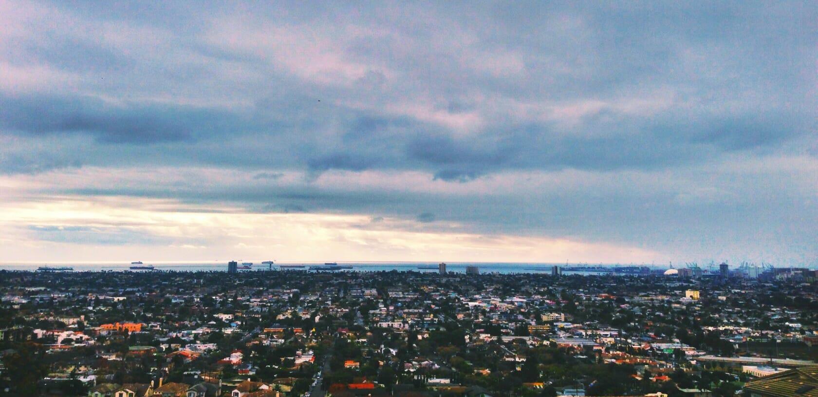 best views in LA Long Beach bixby knolls