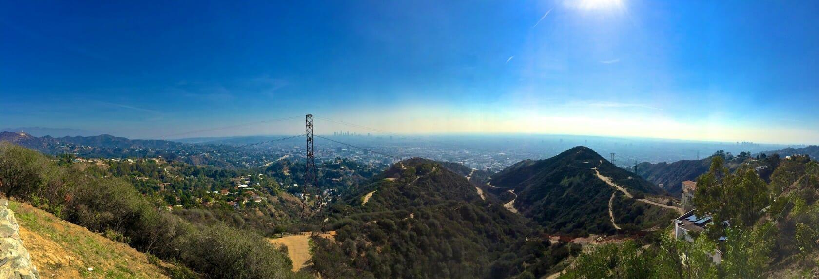 best views in LA runyon