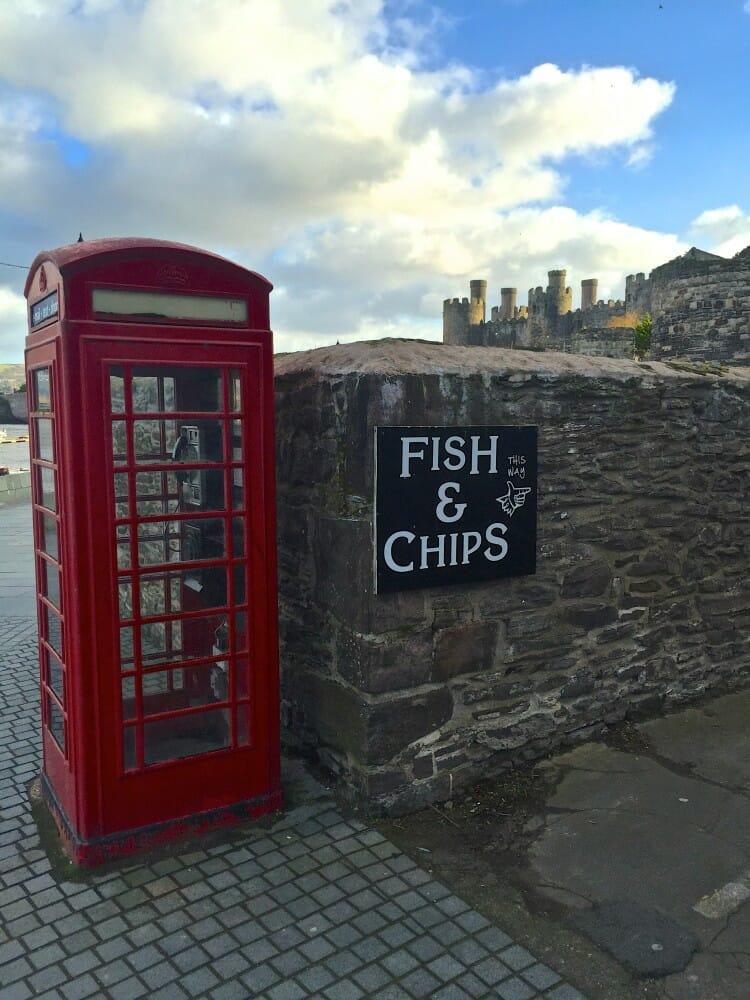 england telephone booth