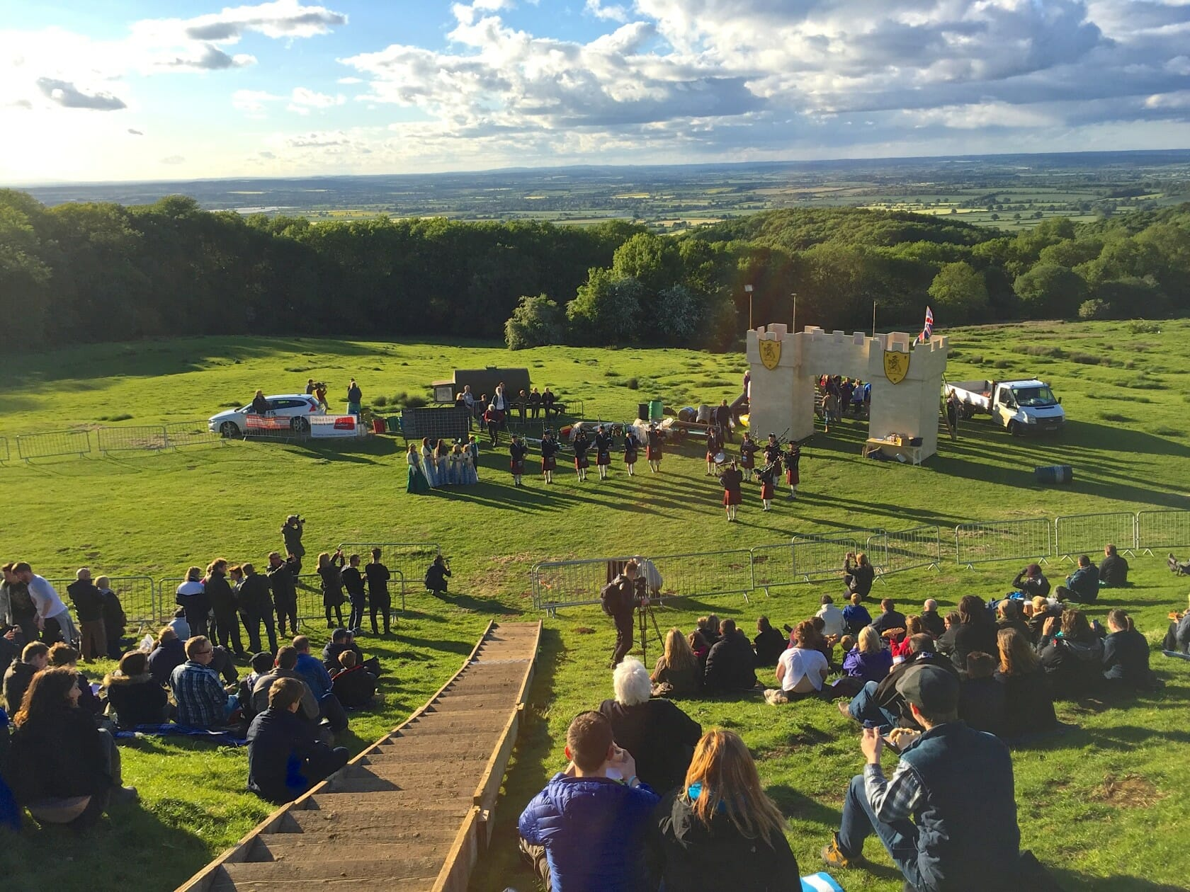 Cotswold Olimpicks dover games england shin kicking competition
