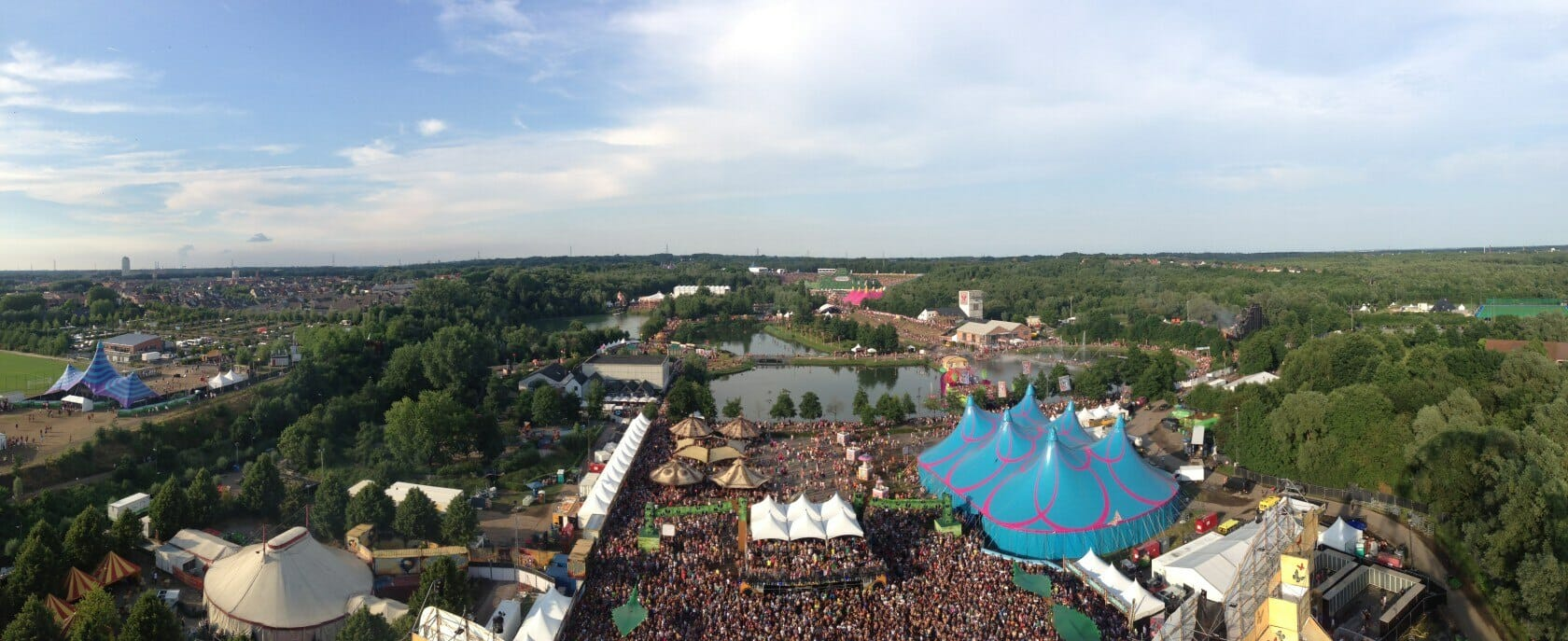 tomorrowland venue ferris wheel