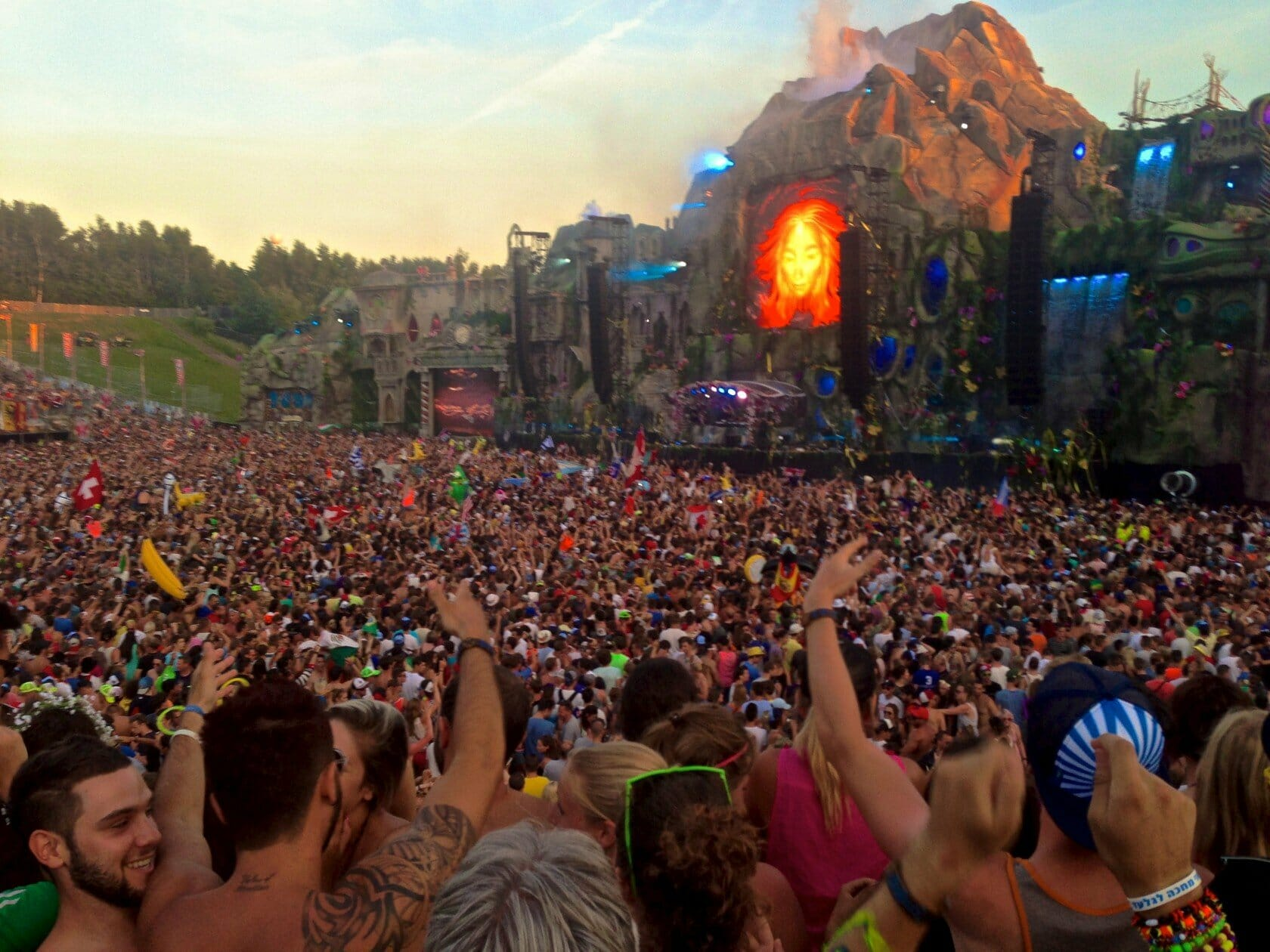 tomorrowland main stage music festival belgium