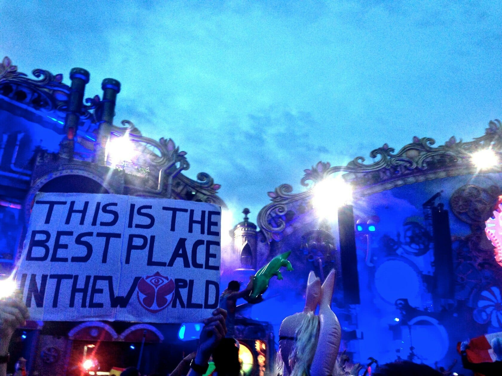 Tomorrowland main stage Festival Review Guide