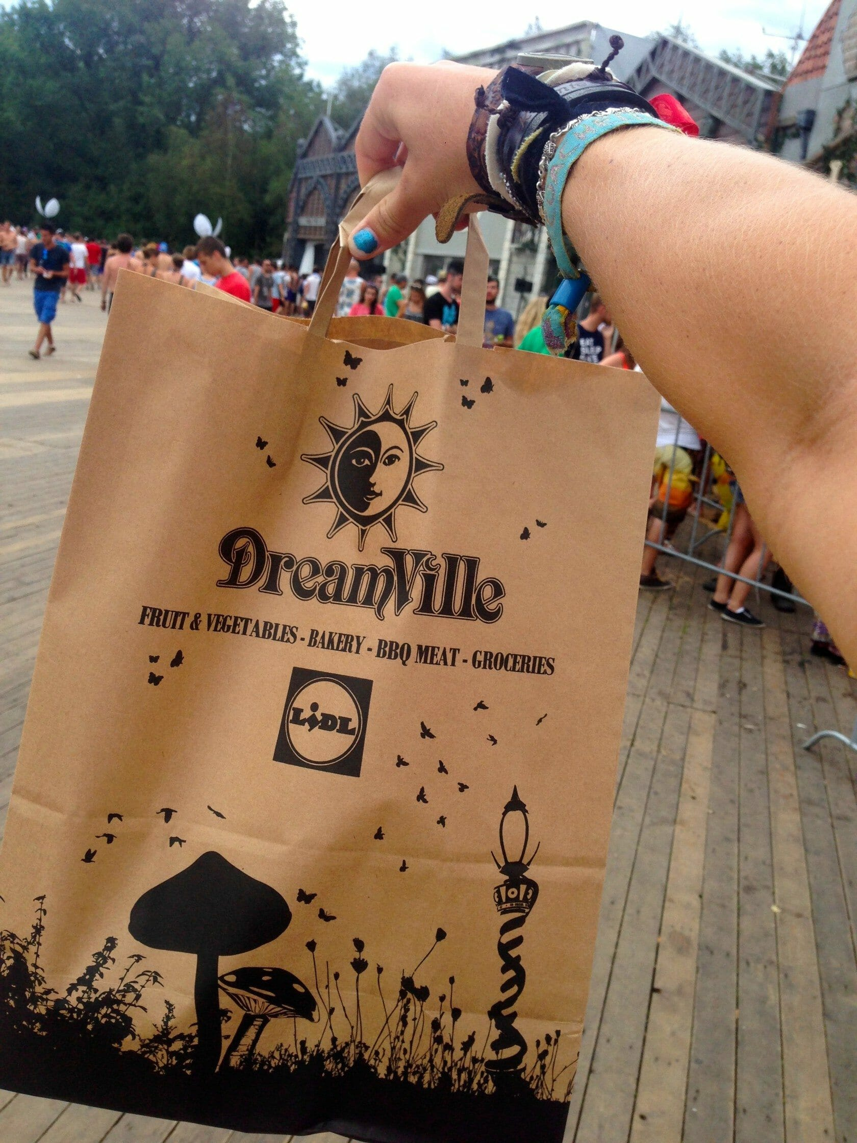 Tomorrowland Dreamville camping