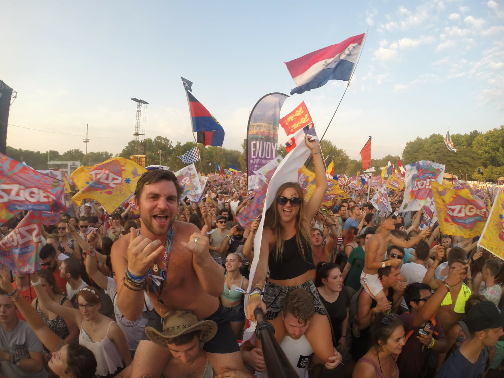 Stoke travel Sziget festival Budapest sziget festival guide going to a festival alone