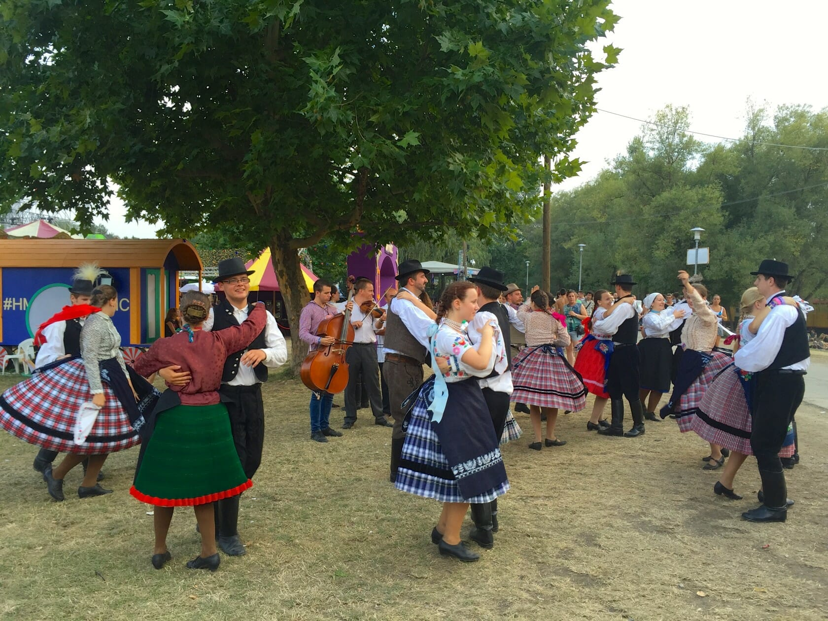 sziget review + festival guide for sziget festival in budapest august hungarikum village