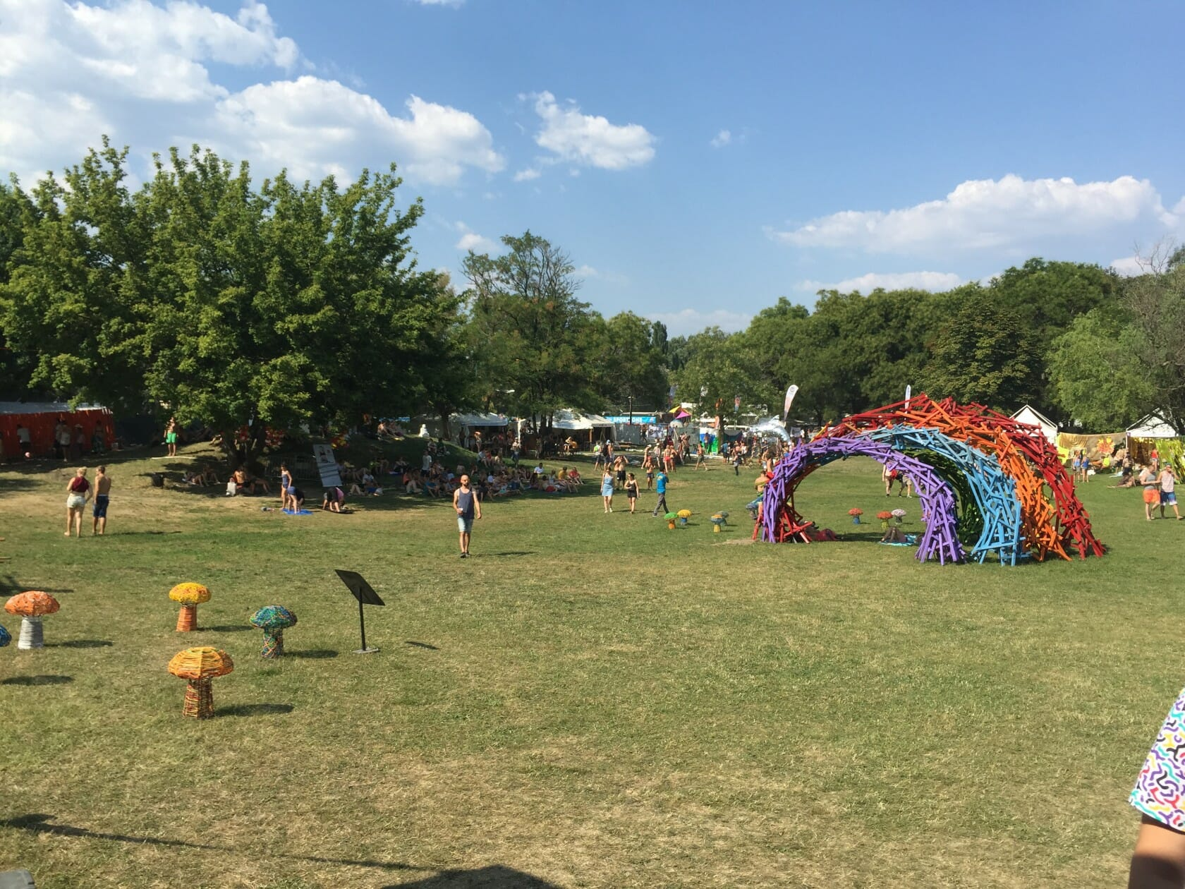 sziget review + festival guide for sziget festival in budapest august art zone