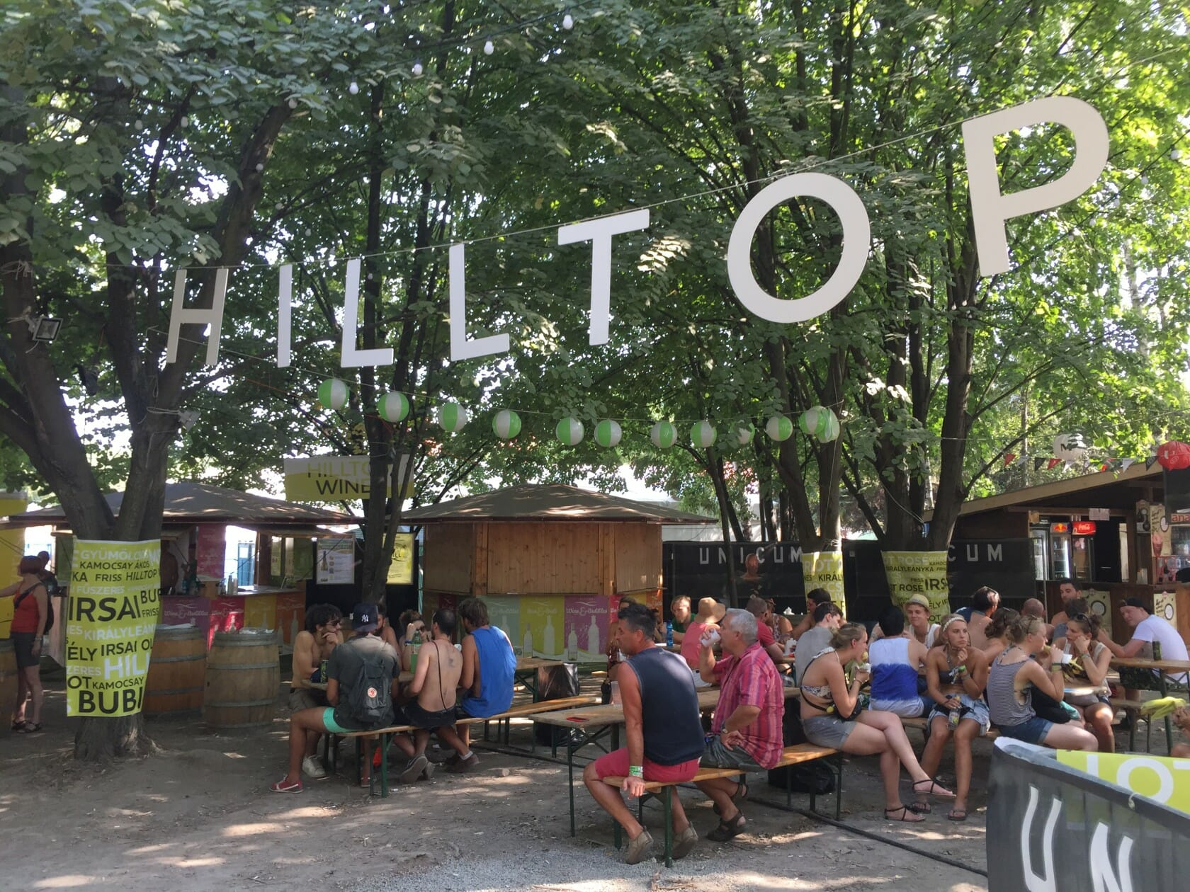 sziget review + festival guide for sziget festival in budapest august food at sziget