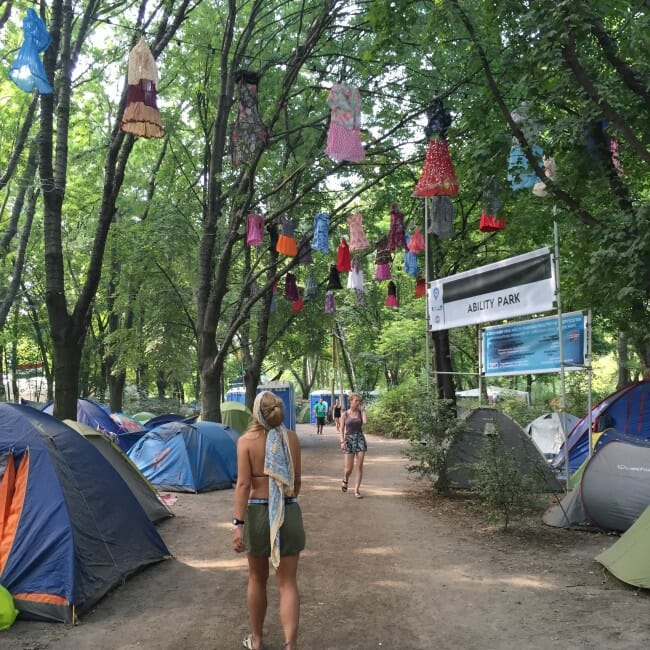 sziget review + festival guide for sziget festival in budapest august camping at sziget
