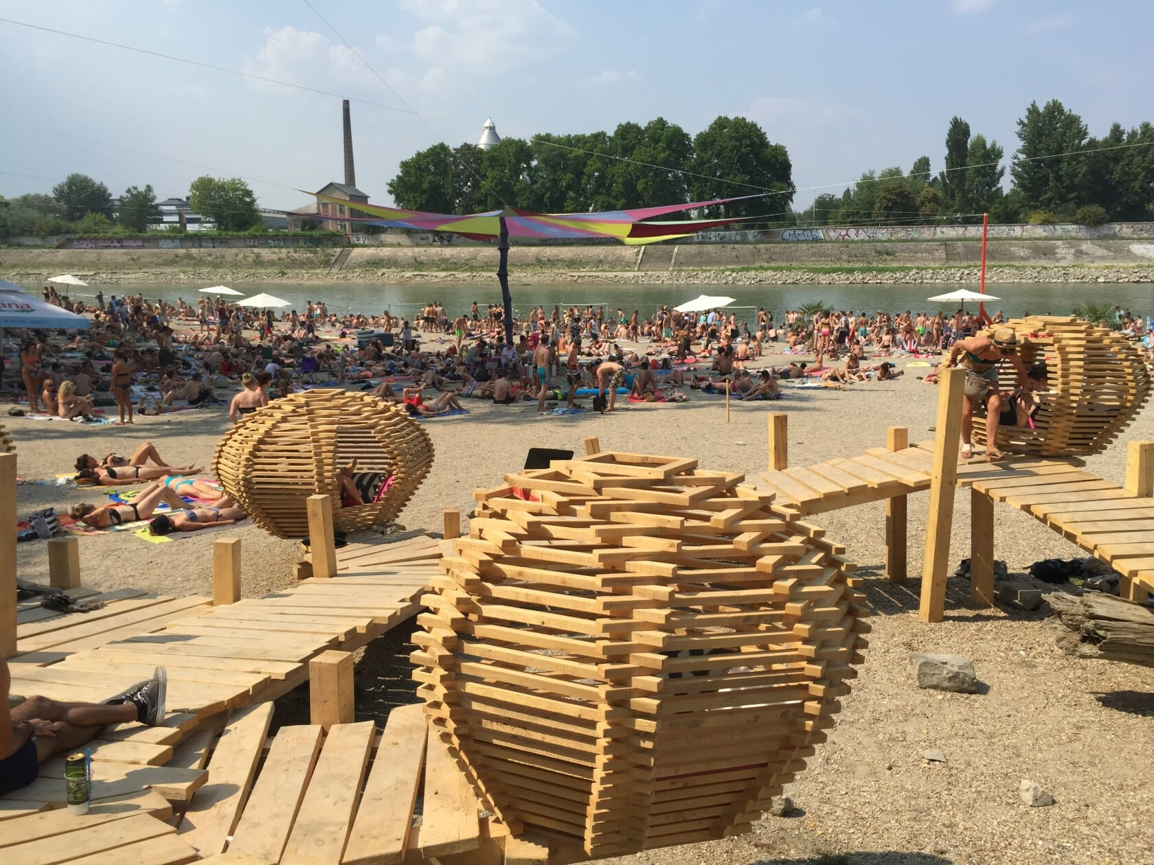 sziget review + festival guide for sziget festival in budapest august sziget beach