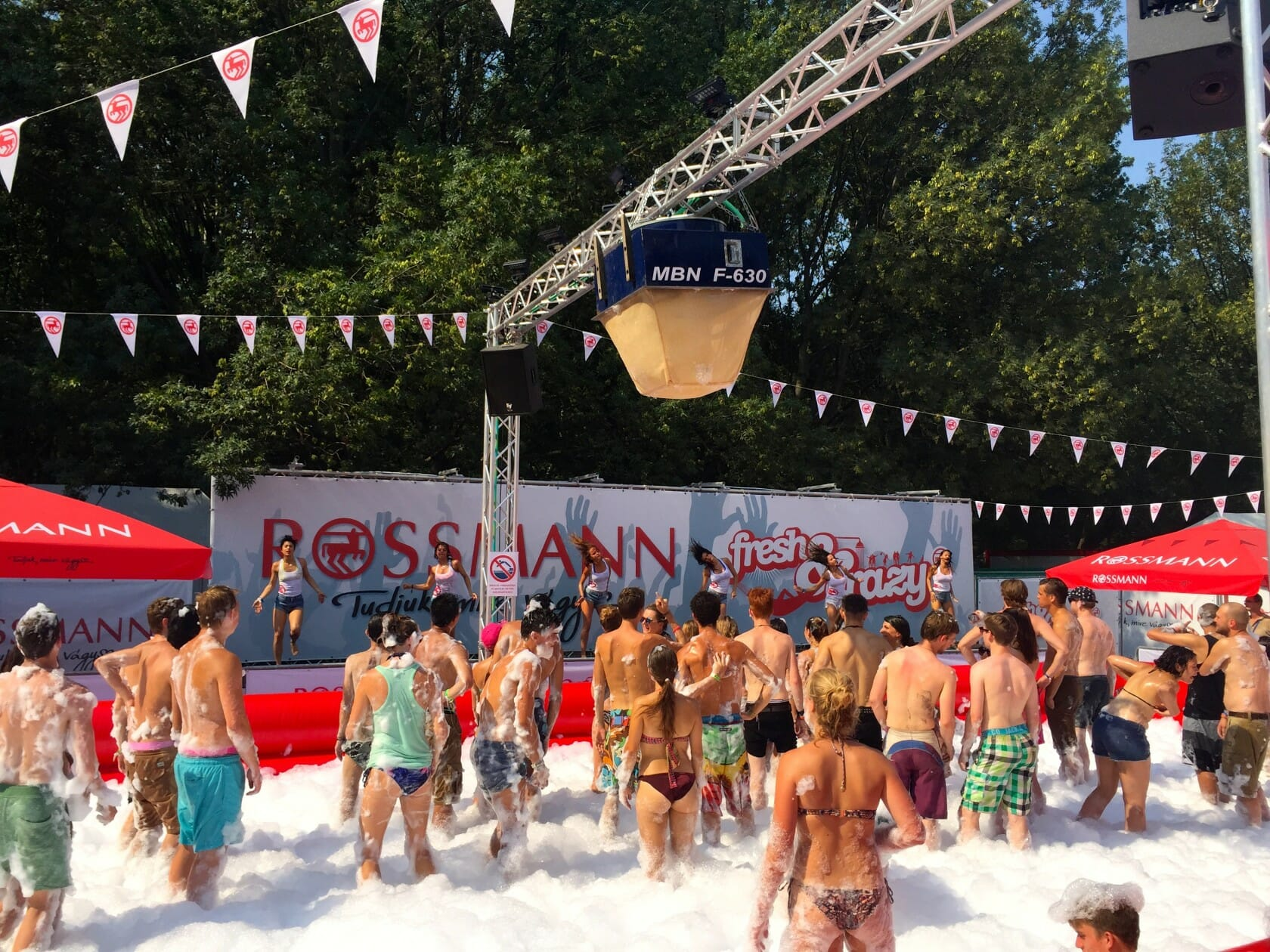 sziget review + festival guide for sziget festival in budapest august foam party