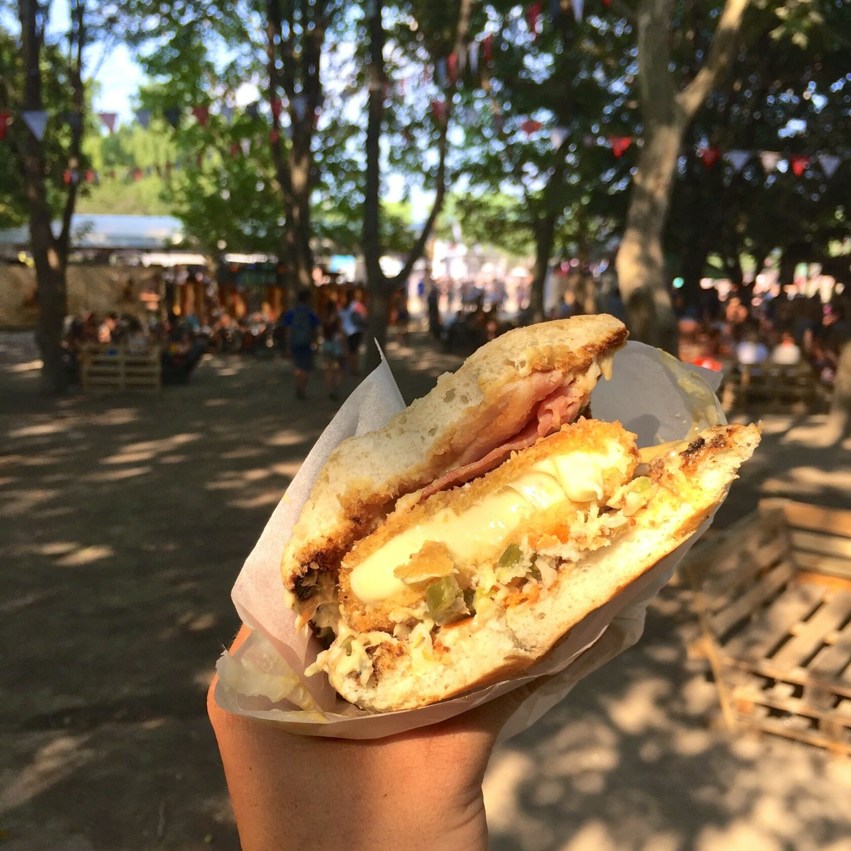 sziget review + festival guide for sziget festival in budapest august food options at sziget