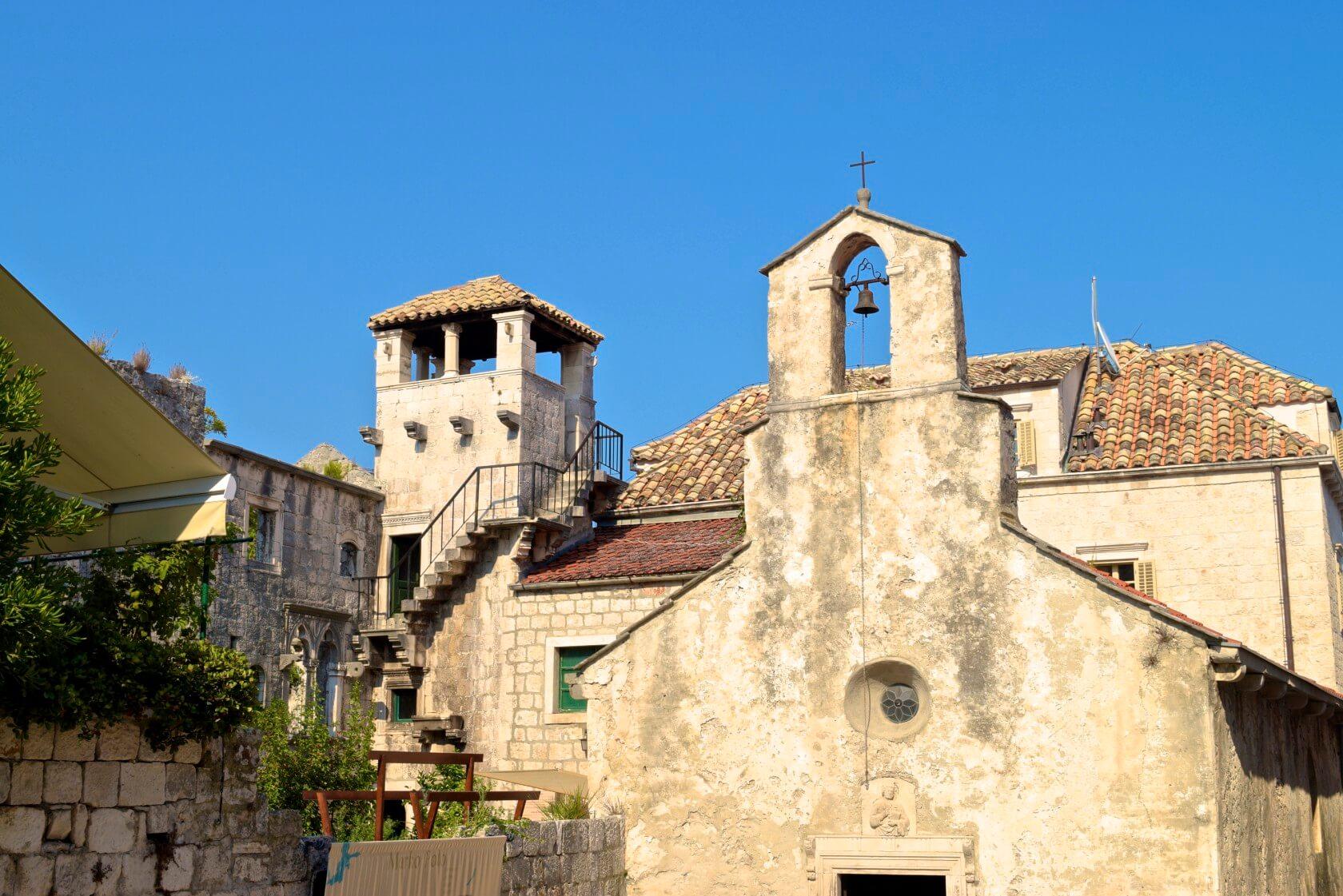 marco polo's birthplace and museum korcula croatia