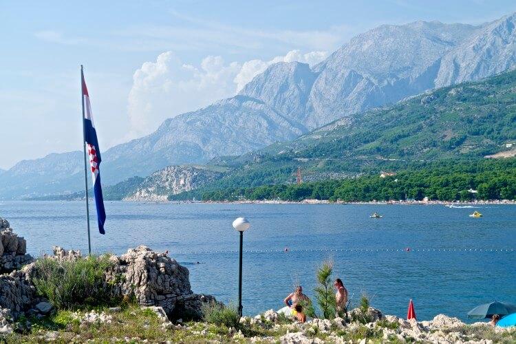 makarska riviera croatia beautiful mountains beaches croatia adventure water sports