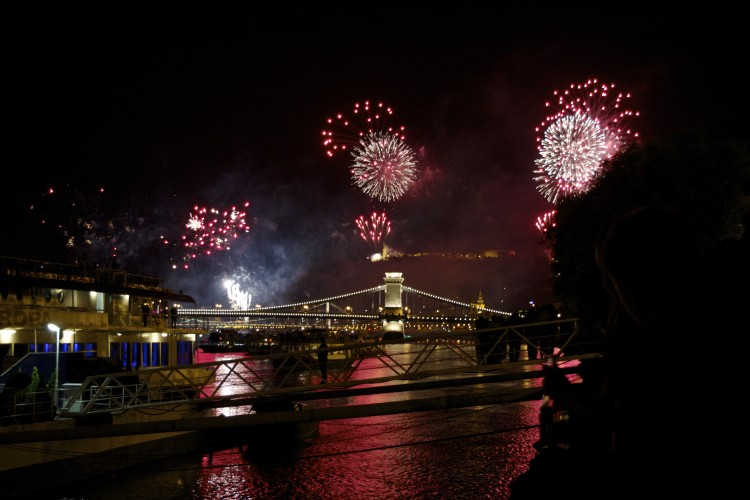 hungarian festival budapest independence day fireworks