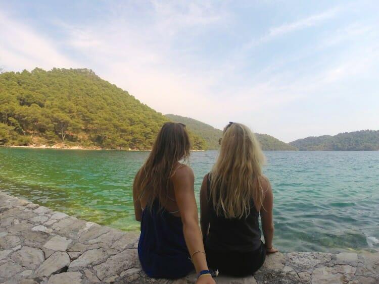go pro croatia Mljet national park