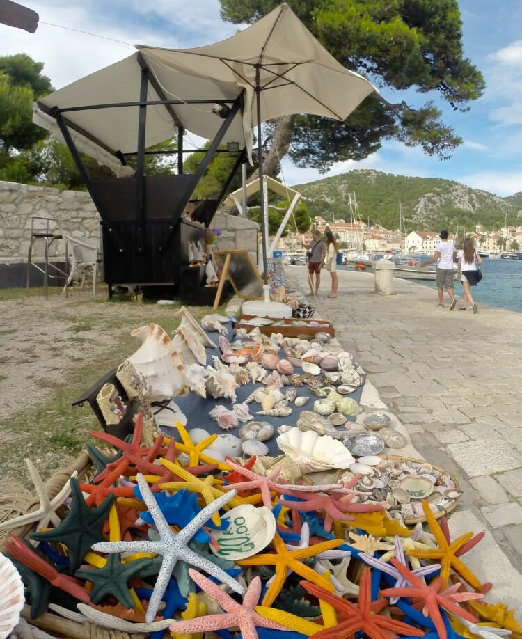 hvar island local crafts croatia spanjola fortress view pakleni islands carpe diem club nightlife croatia