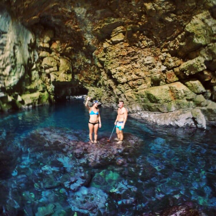 Caves in Croatia Odysseus cave Tour guide's guide to Croatia