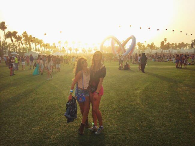 coachella sunset Coachella Review + Festival Guide: Everything You Need to Know