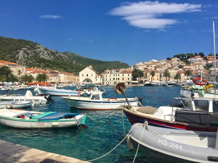 hvar island croatia spanjola fortress view pakleni islands carpe diem club nightlife croatia