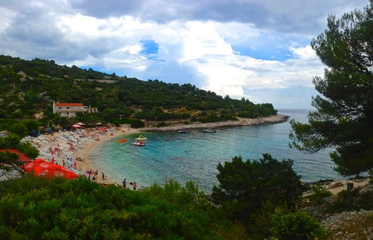 hvar island croatia secret beach carpe diem club nightlife croatia