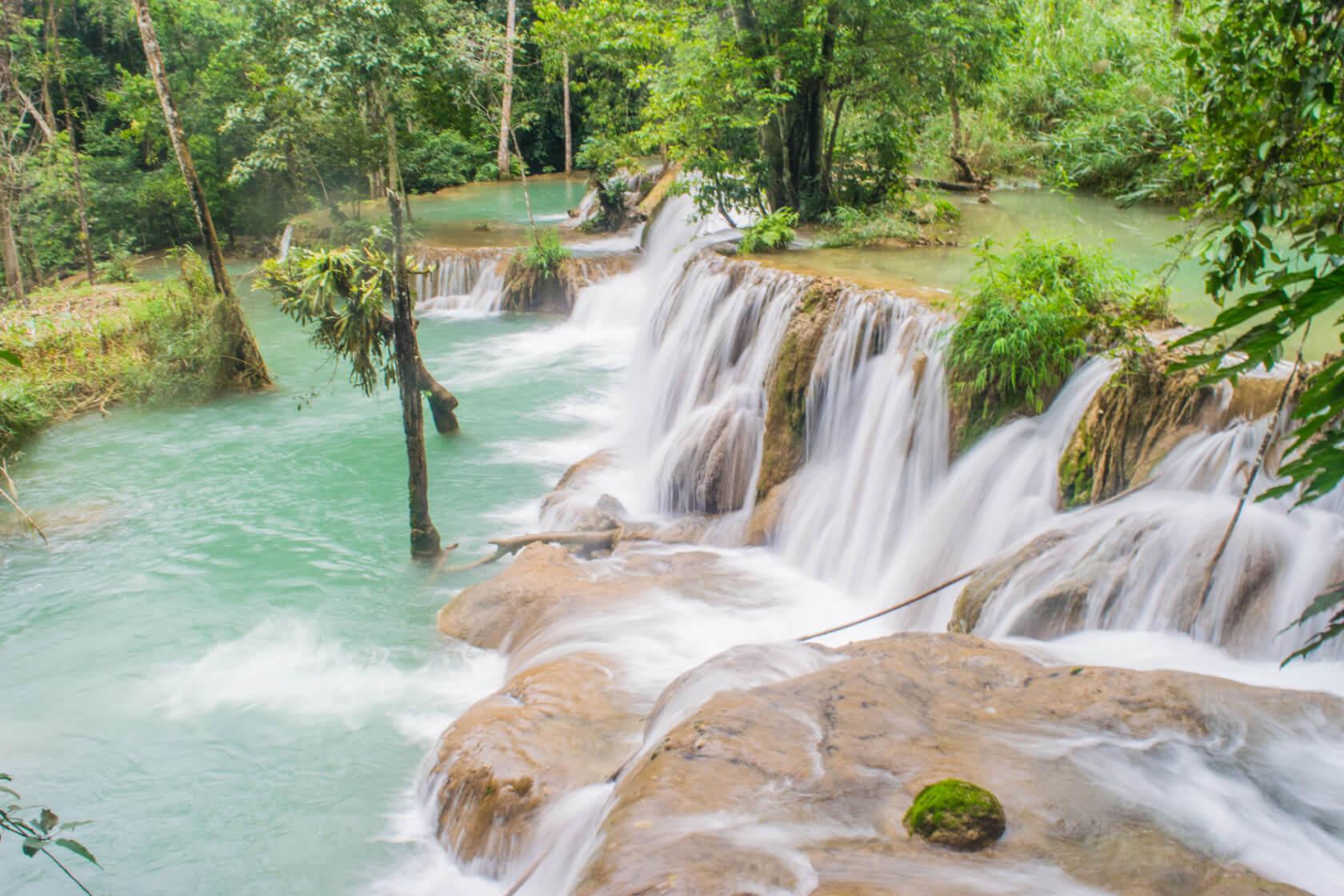 Laos waterfalls