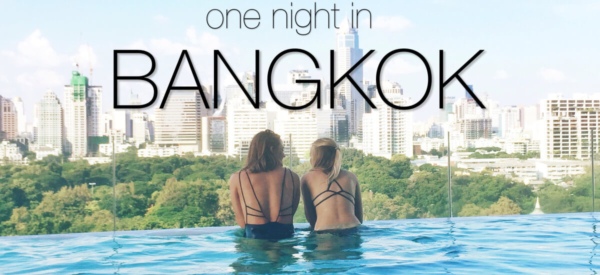 One Night in Bangkok – Halloween + Jet Lag