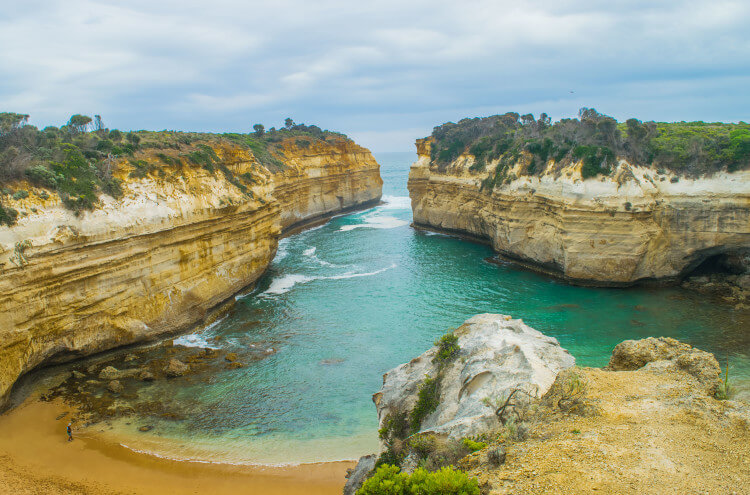 Loch Ard Gorge Great Ocean Road Port Campbell National Parks in Australia