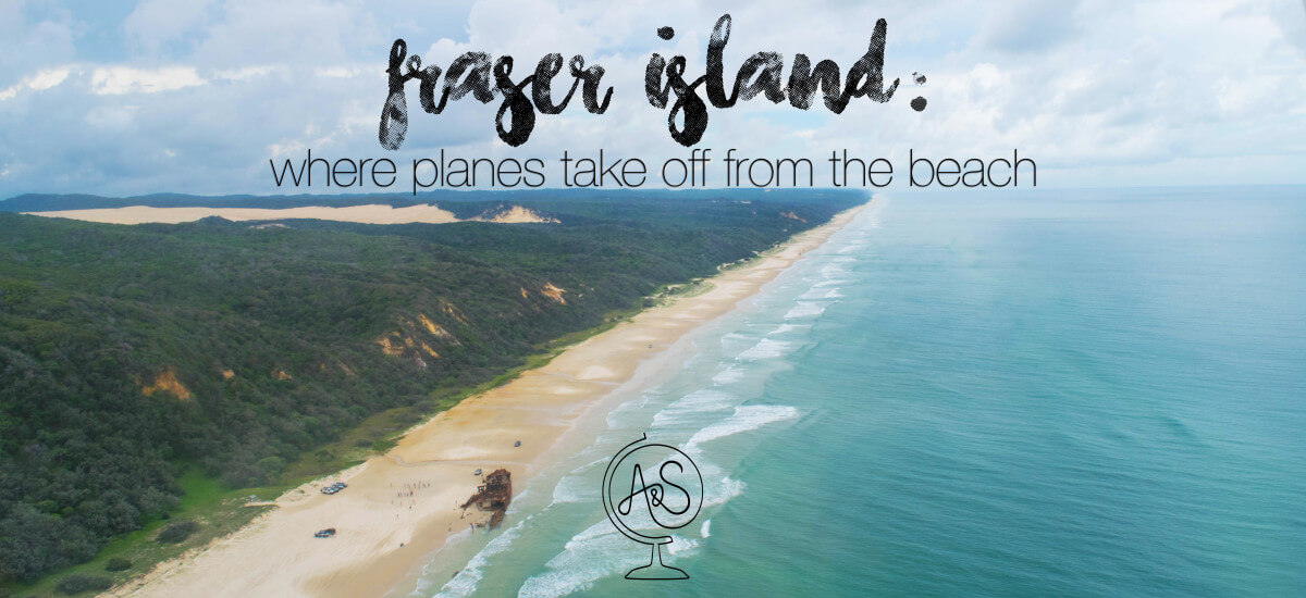A Day on Fraser Island: Where Planes Take Off from the Beach