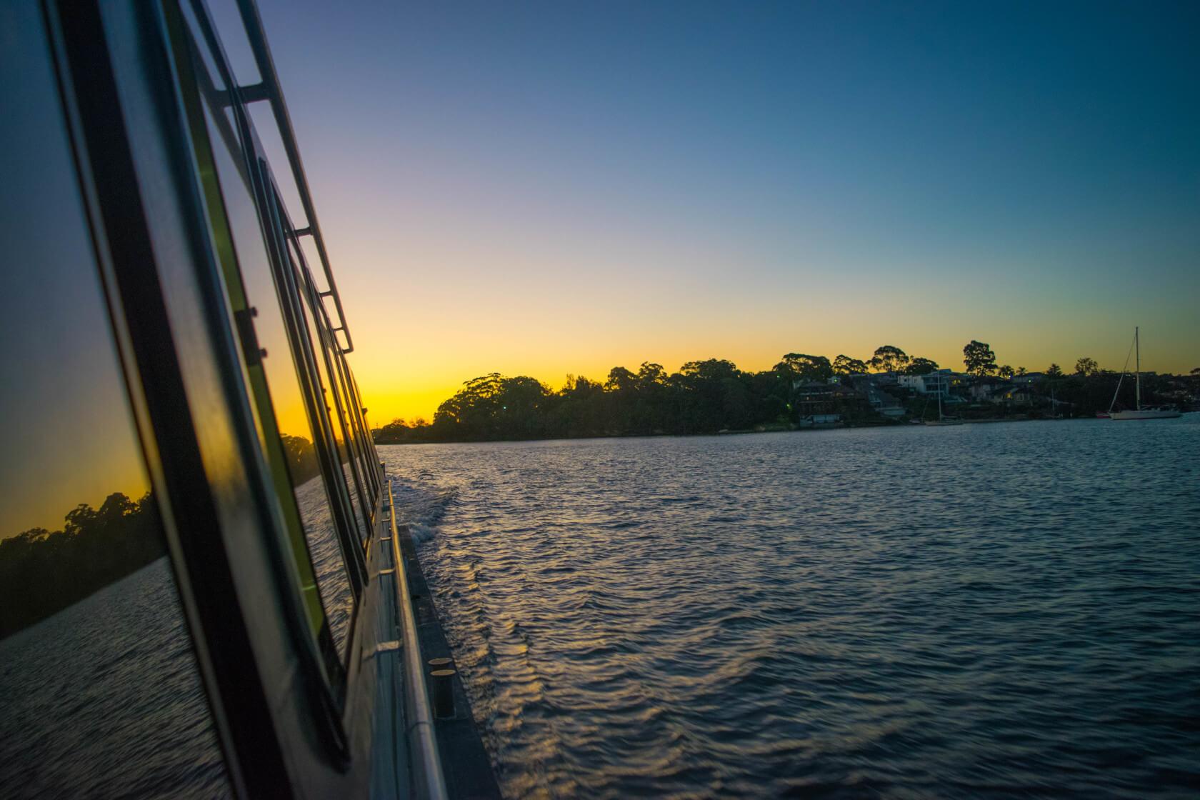 Ferry Sunset Sydney