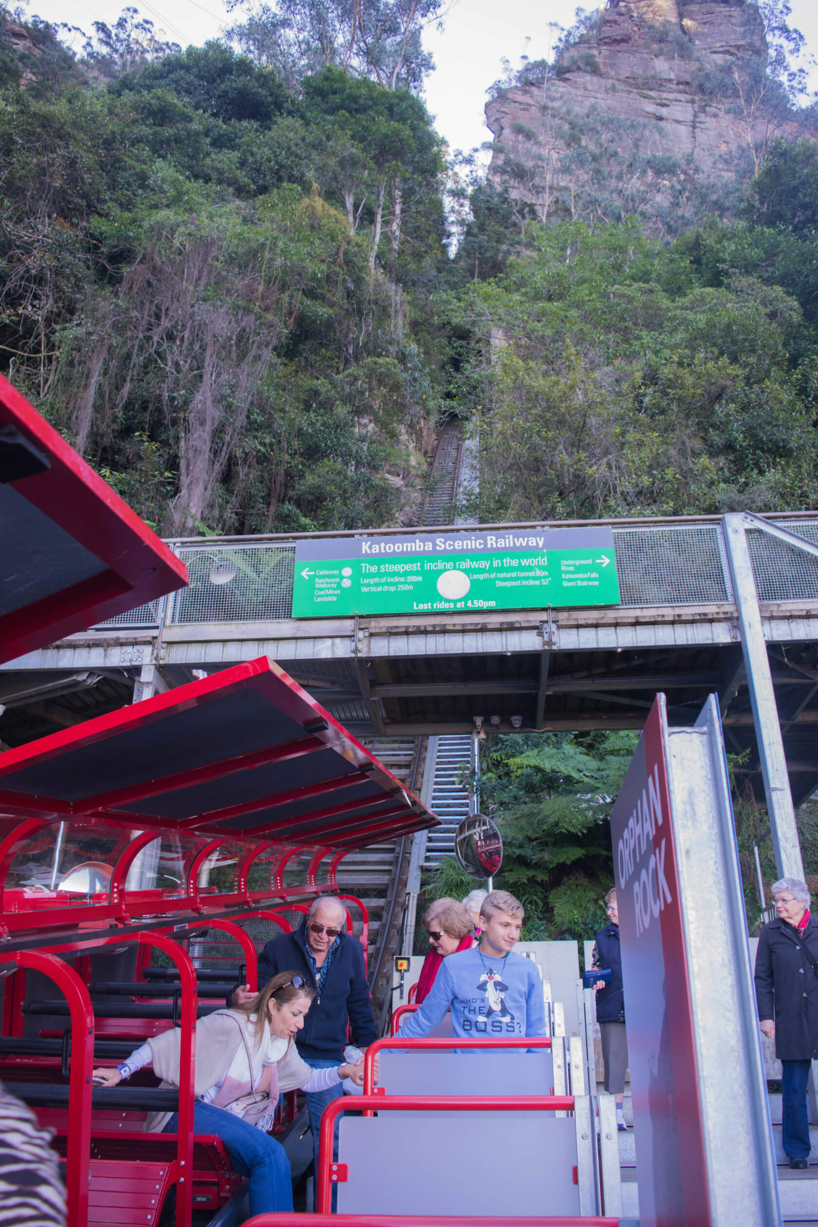Blue Mountains Scenic World Steepest Railway