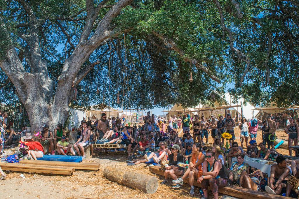 Lightning in a Bottle Festival Guide village