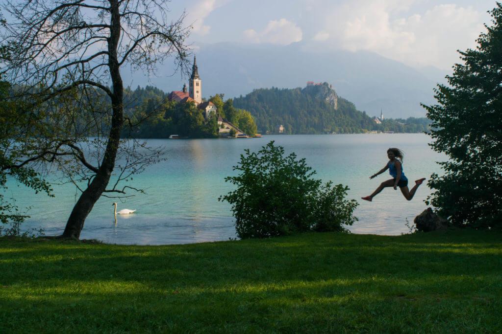Lake Bled Slovenia Guide Jump