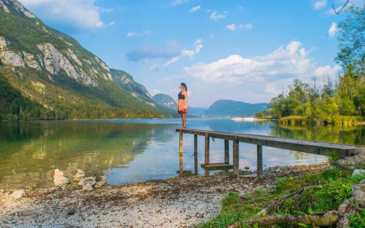 lake bohinj slovenia female solo travel backpacking europe hacks tips and tricks