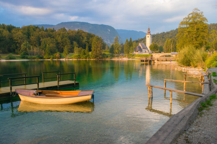 slovenia travel guide lake bohinj sunset spots