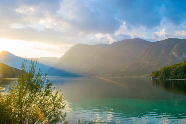 Lake Bohinj Sunset