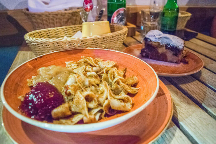 traditional slovenian meal lake bohinj slovenia travel guide