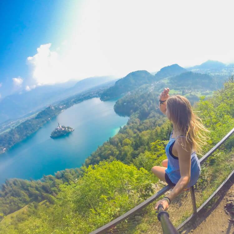 hiking lake bled slovenia travel guide