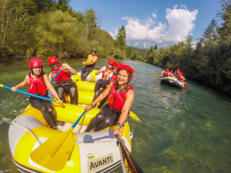 slovenia travel guide bled raft