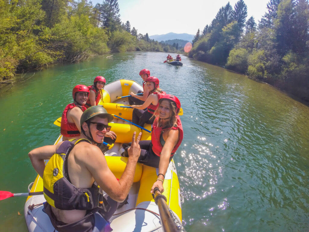 WhatsUpBled rafting Lake Bled Slovenia