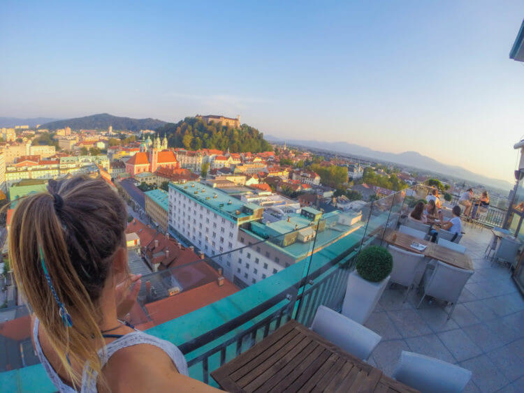 ljubljana skyscraper slovenia travel guide