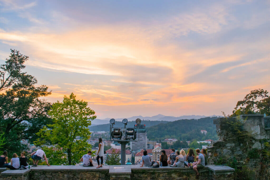 Ljubljana sunset guide