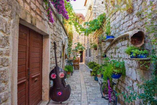 essentials, tips, and hacks for backpacking europe hvar croatia stari grad
