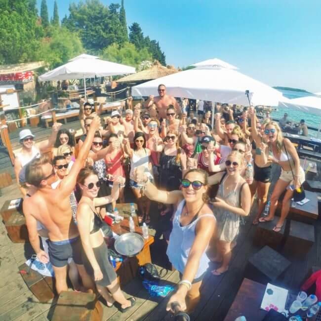 Hula hula hvar beach bar guide to croatia