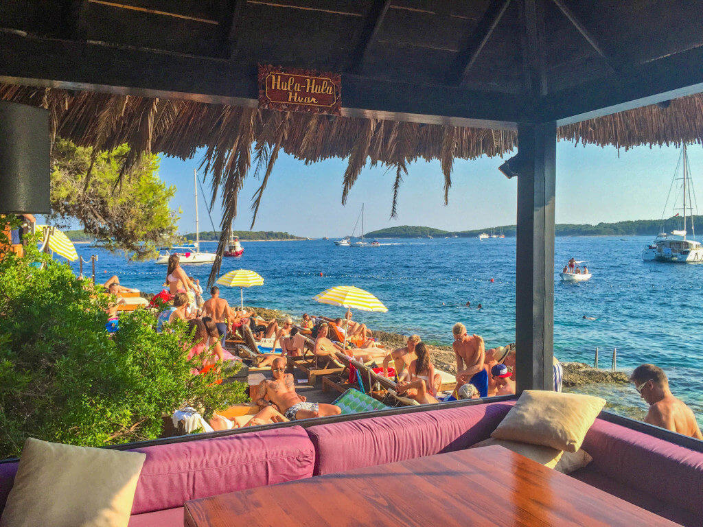 hula hula hvar guide to havr nightlife